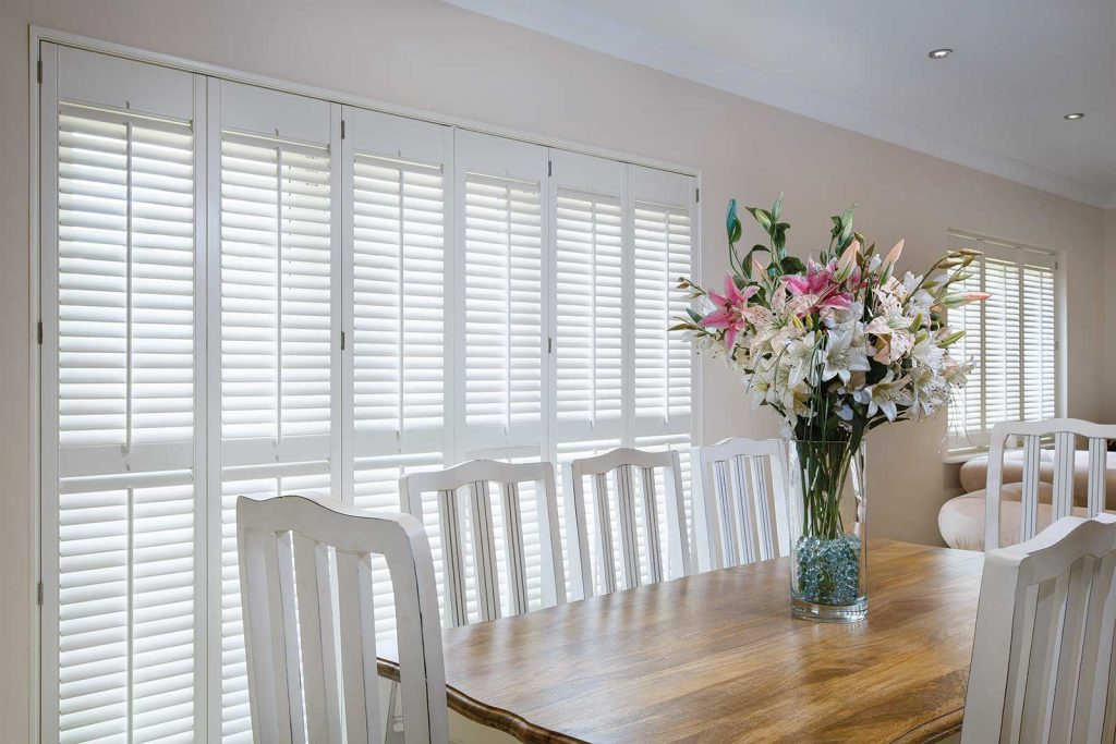Kitchen shutters by Charltons for beautiful homes