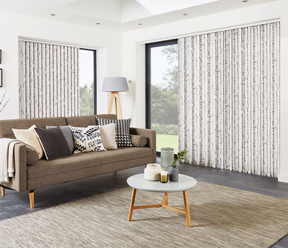 Large vertical blinds by Charltons in Barnsley