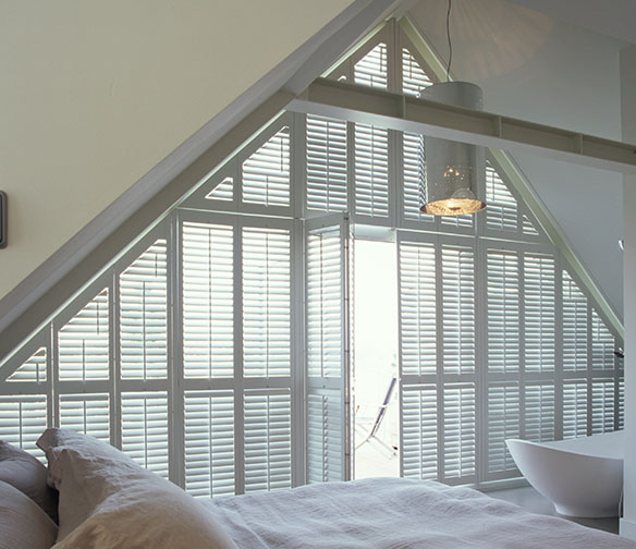 unusual shape window blinds by Charltons